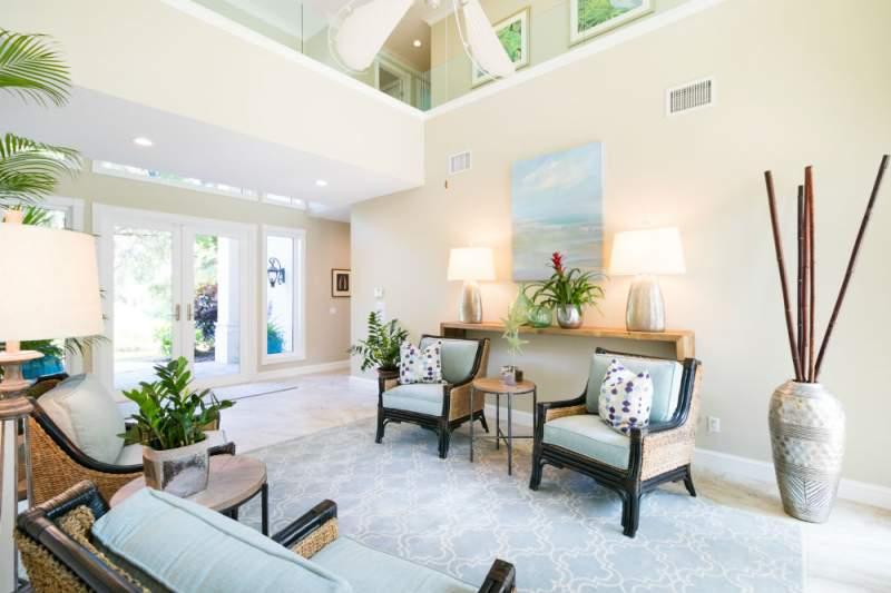 captivating contemporary coastal interior design | Contemporary Coastal - Hip, Classic , Residential Interior ...