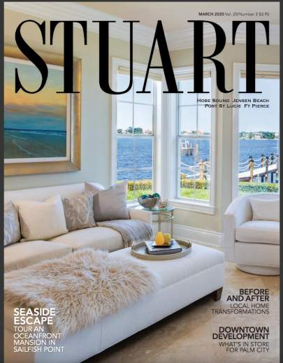 Stuart Magazine Cover, March 2020